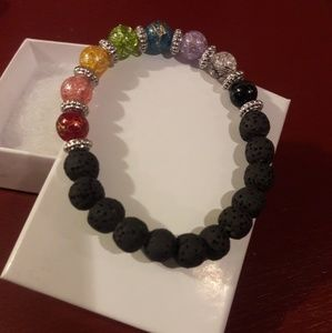 Handmade Colorful Essential Oil Diffuser Bracelet